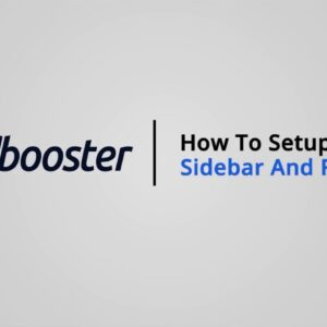 How to Setup a Sidebar & Filters on Shopify with Booster Theme V5