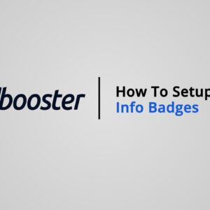 How to Setup Info Badges on Shopify with Booster Theme V5