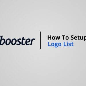 How to Setup Logo list on Shopify with Booster Theme V5