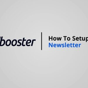 How to Setup the Email Newsletter on Shopify with Booster Theme V5