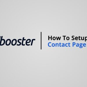 How to Setup your Contact Us page on Shopify with Booster Theme V5