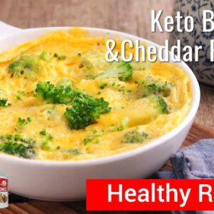 Okinawa Flat Belly Tonic | Broccoli and Cheddar Frittata Recipe - Healthy Recipes To Lose Weight