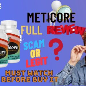 METICOE REVIEWS - Meticore Review 2021 | Don't buy without watching  | Meticore supplement review