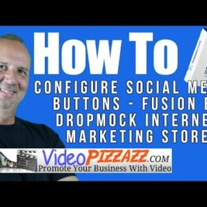 How To Configure Social Media Buttons - Fusion by DropMock Internet Marketing Store