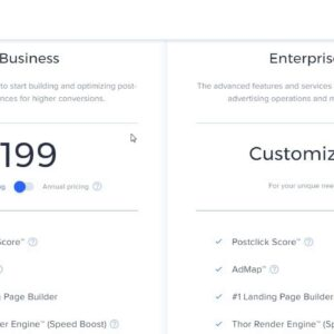 Instapage Pricing Plans: How Much Does Instapage Cost?
