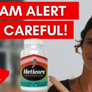 Meticore Review - IS IT SCAM? Meticore Supplement Review - Does Meticore Work? Meticore Reviews