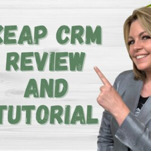 Keap Demo, CRM Review and Quick Start Tutorial for Marketing Automation