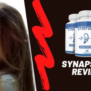 Synapse XT Supplement Reviews - Natural Hearing 🧠 Brain Booster Supplement | Does It Treat Tinnitus?