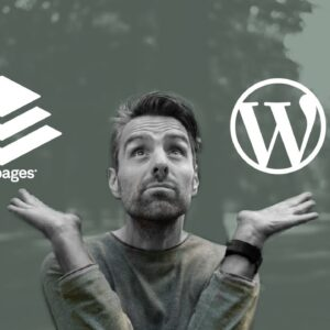 Leadpages Vs Wordpress — What's the best choice for your situation?