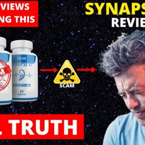 Synapse xt Scam⚠️Alert, I Lost 300$ On synapse xt for tinnitus, synapse xt consumer reviews