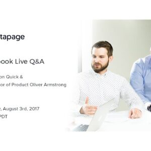 [Live Q&A] Instapage Product Updates — August 2017