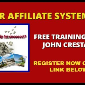 Super Affiliate System 3.0 Review : The John Crestani Affiliate Marketing Training Course(2020)