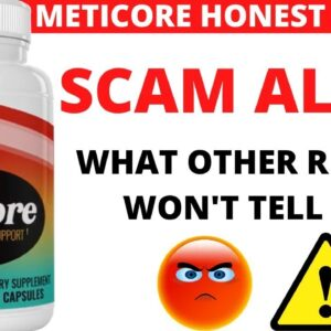 METICORE Personal Review -  METICORE Weight Loss? METICORE Really Work?