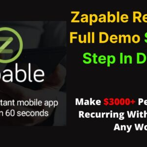 Zapable Review 2021🔥 & Zapable Demo In Details 🔥 Check Video Description Zapable App Builder