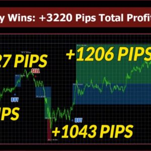 Forex Spectrum In LIVE ACTION - Karl Dittmann New Forex Indicator - +3220 Pips Total Profit!