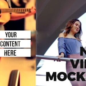 New Video Mockups for your Marketing - DropMock Dec 2018 Release