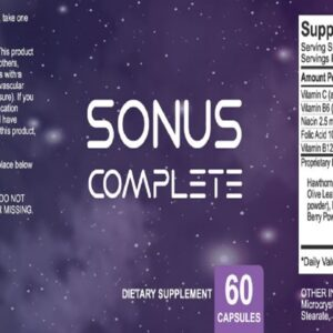 Sonus Complete For Tinnitus Reviews - Does it really work, Hoax or the REAL Deal? (Discount Link)