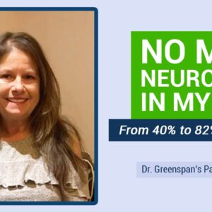 NO MORE neuropathy in my feet within 5 weeks! Pain is gone! | Dr. Greenspan