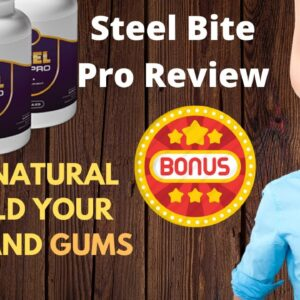 steel bite pro review ❌warning⚠️ don't buy steel bite pro capsules before you watch this video😲