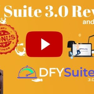 DFY Suite 3.0 Review ⚡ Warning ⚡ Don't get DFY Suite 3.0 without my 🦄CUSTOM🦄 Bonuses!