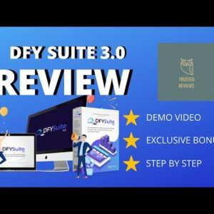 DFY Suite 3.0🔥 Best High Quality Done-For-You Content Syndication Platform 🔥With Exclusive Bonuses🔥