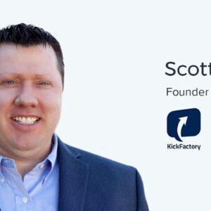 Scott Lewis, CEO and Founder of KickFactory on Real Time Social Advertising and Sales