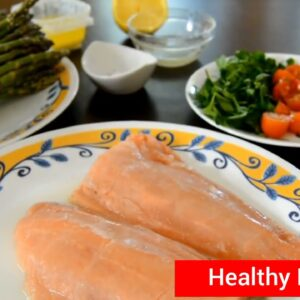 Okinawa Flat Belly Tonic | Lemon Butter Salmon With Asparagus - Healthy Recipes To Lose Weight