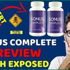 Sonus Complete Reviews ❌⚠️ DON'T Buy Sonus Complete For Tinnitus Supplement Before Watching This😲