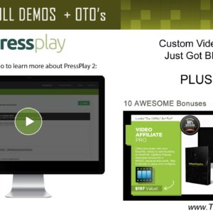PressPlay 2.0 Live Demo and Review