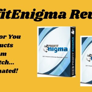 Profit Enigma Review - Done For You Products from Scratch... Automated!