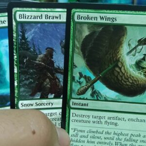 unboxing Booster Theme green kaldheim, magic the gathering (español), conociendo magic XD