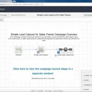 Simple Lead Capture for Sales Teams - Infusionsoft's October '14 Free Campaign of the Month