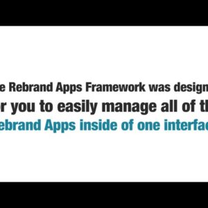 Rebrand Apps Review - You want to it !