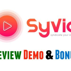 SyVid Review Demo Bonus - Instantly Post Your Videos to 23+ Different Platforms