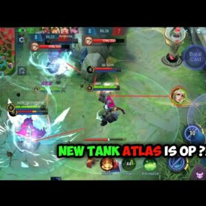Review Skill & Game Play New Tank ATLAS - Mobile Legends Indonesia