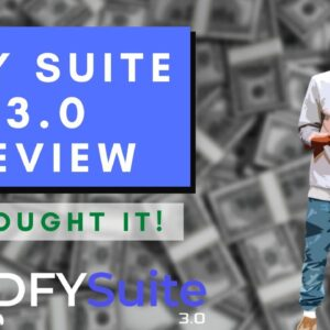 DFY Suite 3.0 Review With FULL Demo & Bonuses - I Bought It! Should You Buy DFY Suite 3.0?