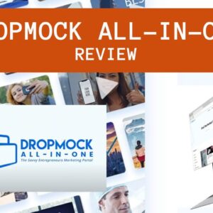 DropMock All In One Review  |  Marketing Portal Review  |  Start Learning Today