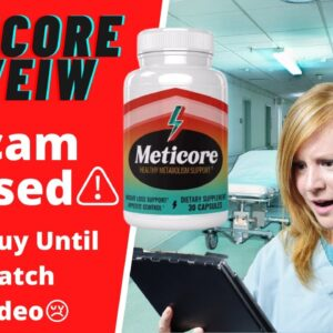 ✔️ Meticore Review 2020  ⚠️Scam Alert ⚠️ Meticore Supplement Review | Real Meticore Reviews