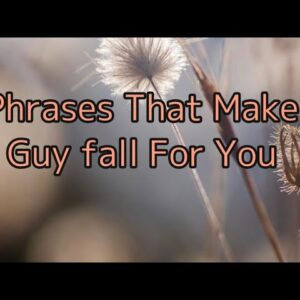 His secret Obsession  By James Bauer|3 Phrases That Make A Guy Fall You #2021