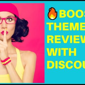 Shopify Booster Theme Review  🔥 (100% Verified Discount Coupon)