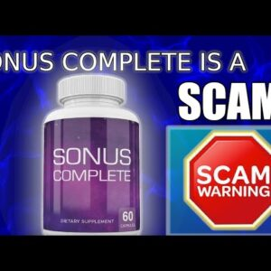 Sonus Complete : Overview of the Supplement! {SCAM or Legit}