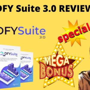 DFY SUITE 3.0 REVIEW🛎️DFY SUITE 3.0 DEMO🛎️ GET BEST DEAL FOR DFY SUITE 3.0 WITH MY 💰$6,668 BONUSES!💰