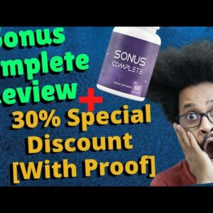 Sonus Complete Review 💊 MY HONEST REVIEW AS A HEALTH RESEARCHER 🔴 Tinnitus Supplement SCAM