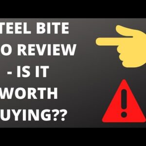 STEEL BITE PRO REVIEW-- MY HONEST UPDATE -- IS IT WORTH BUYING!!!