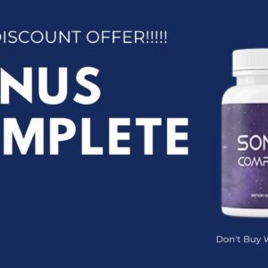 Sonus Complete Supplement review : 5 Steps To Healthy Hearing | Don't Buy Watch This Video