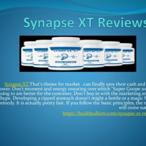 Synapse XT is meant to be for just ear health directly