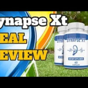 Synapse XT Reviews || Synapse XT Tinnitus Supplement Reviews