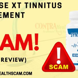 Synapse XT Tinnitus Supplement Review: It is A SCAM!