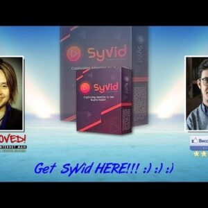 SyVid Sales Video Preview - get *BEST* Bonus and Review HERE!!!... :) :) :)
