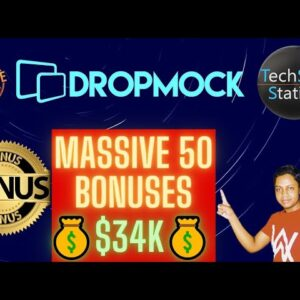 DropMock Review : [Honest] You'll Guilt If You Buy Without My 50 Huge Bonuses Worth $34K : DropMock